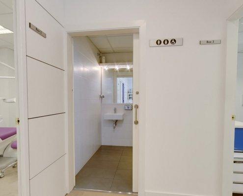 Box 2 e Box 3 Clinica Odontoiatrica Dott. Reato Dentista Barcellona Spagna